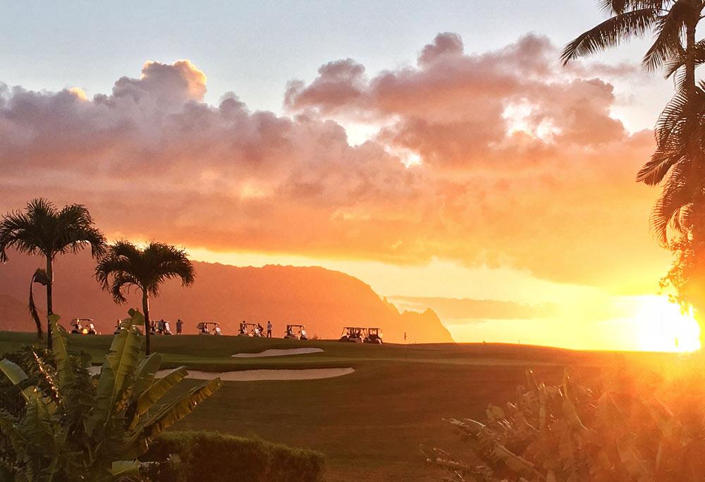 Makai Sunset Golf Cart Tour Best Kauai Tours